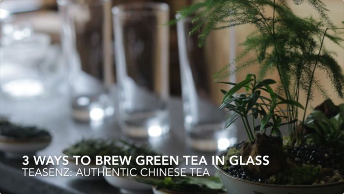 3 Ways To Brew Loose Leaf Green Tea in a Glass